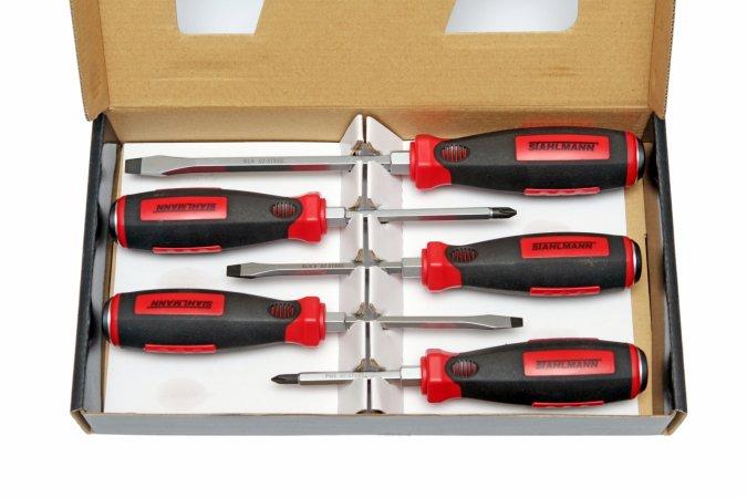 STAHLMANN professional tools ST 700.05K  SADA POKLEPOVÝCH ŠROUBOVÁKŮ ST 700.05K ST700.05K